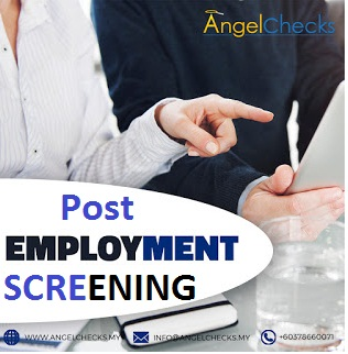 Post-Employment-Screening
